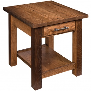 Reclaimed Barnwood Amish End Table