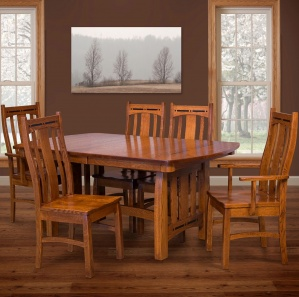 Boulder Creek Amish Dining Room Set
