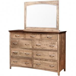 Roxbury Amish Dresser with Mirror Option