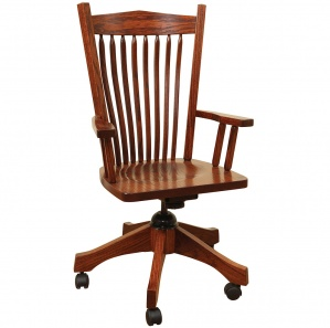 Post Mission Amish Desk Chair