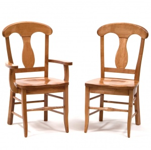 French Country Amish Dining Chairs
