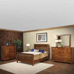 Calmont Amish Bedroom Furniture Set