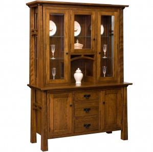 Artesa Amish Buffet & Optional Hutch