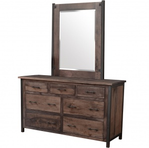 Structura Amish Dresser with Mirror Option