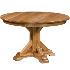 Rocky Point Amish Round Dining Table