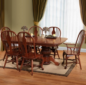 Oxford Heights Amish Dining Set