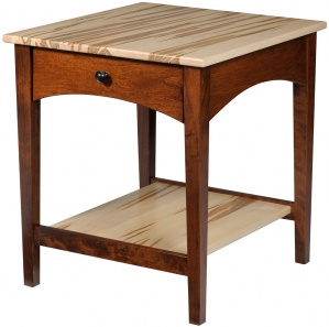 Modern Shaker Amish End Table