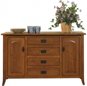 Bunker Hill 4 Drawer Amish Buffet