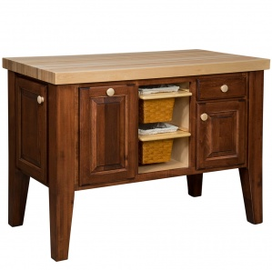 Harvest Home Fruit & Spice Amish Kitchen Island