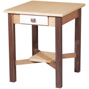Triwood Amish End Table