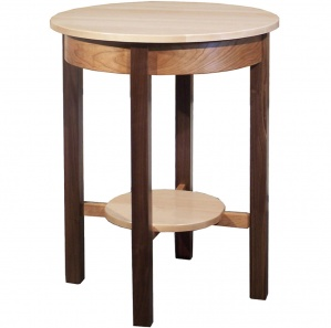 Triwood Round Amish Table