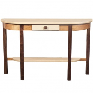 Triwood Half Oval Amish Table