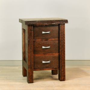 Live Edge Amish Nightstand