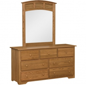 New Albany Amish Dresser & Optional Mirror