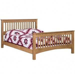 New Albany Slat Style Amish Bed