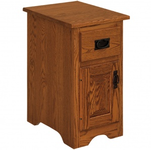 Harmony Drawer & Door Amish Nightstand