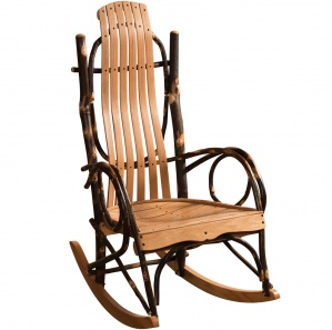 Hickory Amish Rocking Chair