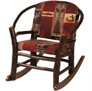 Hickory Hoop Child Amish Rocking Chair