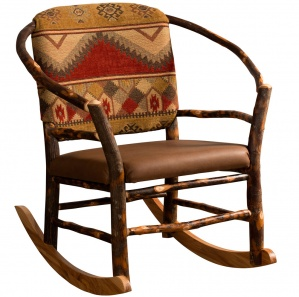 Hickory Hoop Amish Rocking Chair