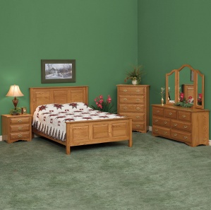 Harmony Classic Amish Bedroom Furniture Set