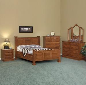Harmony Royal Amish Bedroom Furniture Set