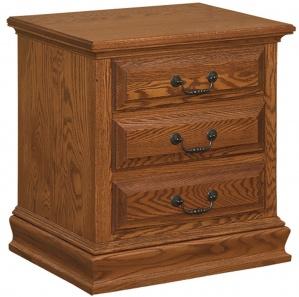 Harmony Royal Amish 3 Drawer Nightstand