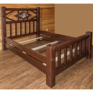 Indian Creek Diamond Mission Amish Bed