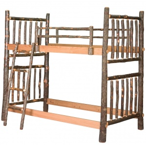 Hickory Twin Amish Bunk Bed