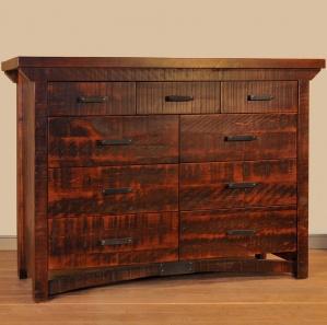 Rustic Carlisle Amish Dresser