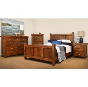 Threshing Amish Bedroom Furniture Set