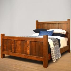Threshing Amish Bed