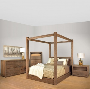 Greystone Amish Bedroom Furniture Set