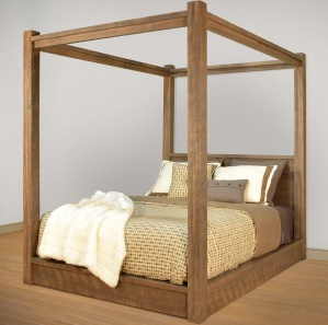 Greystone Amish Canopy Bed