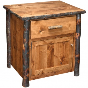 Bear Lodge Hickory Amish Nightstand