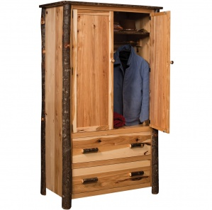 Hickory Amish Armoire