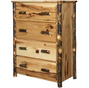 Allegheny Hickory Amish Chest of Drawers