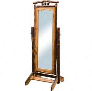 Hickory Amish Cheval Mirror