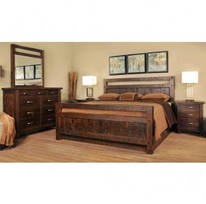 Timber Amish Bedroom Furniture Set