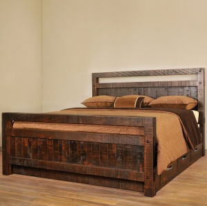 Timber Amish Bed