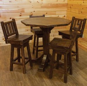 Indian Creek Amish Pub Table Set