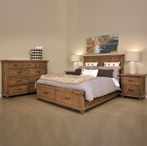 Truss Amish Bedroom Furniture Set
