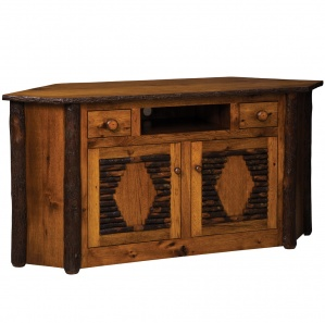 Hickory Amish Corner Entertainment Center