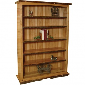 Hickory Amish Bookcase