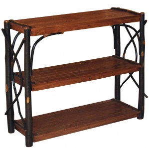 Hickory Amish Shelf Stand