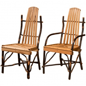 Hickory Bentwood Amish Dining Chairs