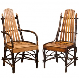 Hickory Deluxe Bentwood Amish Dining Chairs
