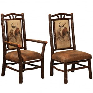 Hickory Hoosier Amish Dining Chairs