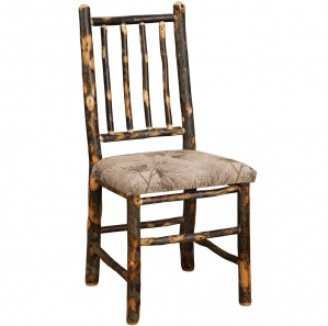 Hickory Game Table Amish Chairs