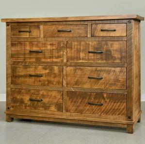 Adirondack Amish Dresser with Mirror Option