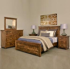 Adirondack Amish Bedroom Furniture Set